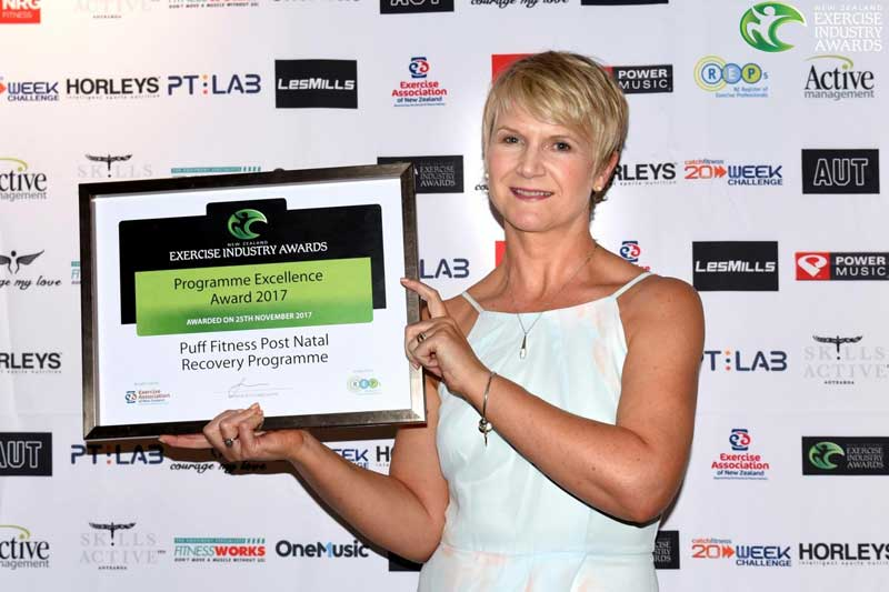 From small beginnings to award winning postnatal recovery programme…